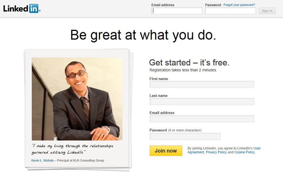 Millions see Kevin L. Nichols on the LinkedIn Home Page